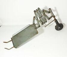 Alter Scherenarm Telefonablage Telefonhalter Schwenkarm Vintage Loft Deko !