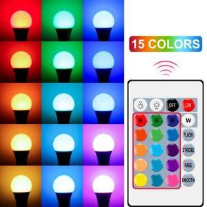 Led Spot Light RGB Magic 5W Bulb Smart Control Color Changing Lamp