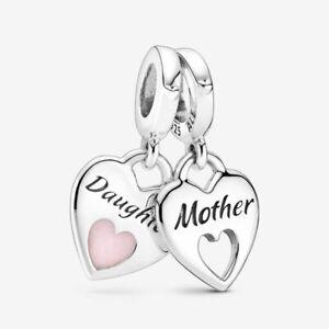 Mother & Daughter Pandora Dangle Charm