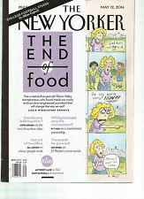 THE NEW YORKER, MAY, 12th 2014 ( THE END OF FOOD ) COLLEGE FOOTBALL STAKES