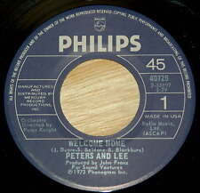 Peter And Lee 45 Welcome Home / Can't Keep My Mind On The Game