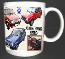 AUSTIN ROVER METRO CLASSIC CAR MUG.LIMITED EDITION