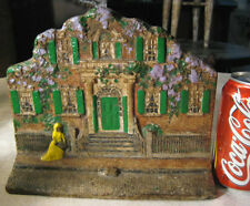ANTIQUE SALEM MASSACHUSETTS NICHOLS HOUSE CAST IRON FEDERAL HOME ART DOORSTOP