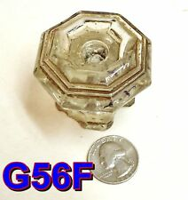 Early 1800's Sandwich Glass Furniture Knob antique door/drawer pull *G56F*