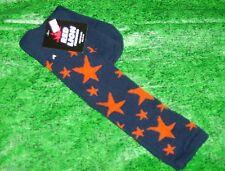 Star Sock Sz 9-11 Custom Navy/orange