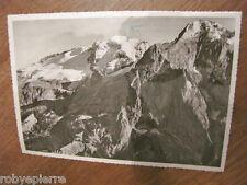Cartolina 15 lire 1964 Dolomiti val di fassa timbrata RIFUGIO ETTORE CASTIGLIONI