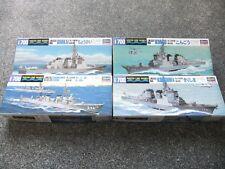 Hasegawa 1:700 Waterline - Chokai, Kongo, Kirishima, Chikuma + Tone JMSDF 4 Kits