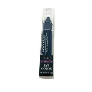 Zuri Flawless Eye Shadow Slate Crayon Makeup Womens Cosmetics Liner Blue Sealed