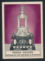 1969-70 O-Pee-Chee #226 Vezina Trophy  (Bobby Orr in yellow on back)