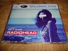 Radiohead - Fake Plastic Trees (CD Single CD1 1995)