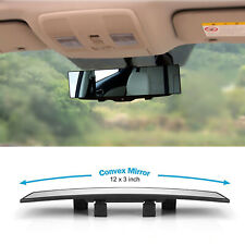 Universal 300mm Hd Car Rear View Mirror Wide Angle Panoramic Rearview Mirror Fits Ford