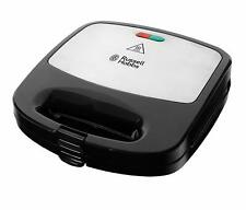 Russell Hobbs 24540 Deep Fill 3 in 1 Sandwich/Panini and Waffle Maker - Black