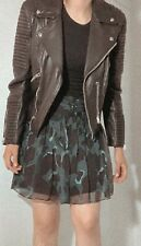 Burberry Skirt (Burberry Brit CAMO 100% Silk US SIZE 12) MSRP: $295