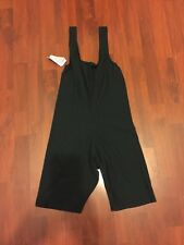 Size 12 Black Woman's Short Cotton Lycra Unitard