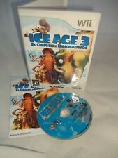Nintendo Wii Console Game - Ice Age 3 - Spanish Text