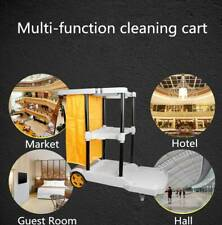 More details for hotel cleaning trolley janitorial housekeeping cart laundry trolley hospital use