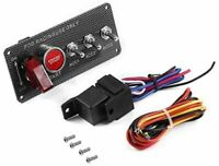 RACING PANEL ENGINE START RED PUSH BUTTON IGNITION  BA BF FG FGX AU Ford FALCON