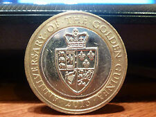 RARE COMMEMORATIVE £2 TWO POUND COIN 2013 GOLDEN GUINEA COIN HUNT