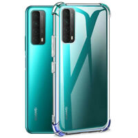 For Huawei P Smart 2021/2020 Case Clear Shockproof Silicone TPU Flexible Cover