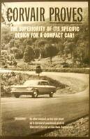 1960 Chevrolet Corvair Dealer Sales Brochure Original Lime Rock Track Tests Orig