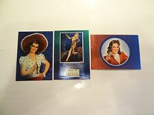 1995 Pepsi Cola Trading Cards Chase Cards!!! GG1+GG2+GG3!!! LOOK!!! Etched Foil!