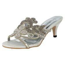 Zapatos de tacón de mujer de color principal plata sintético Talla 39