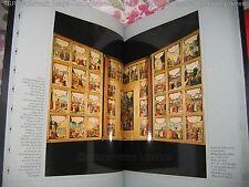 """""""Les Quatre Evangiles"""" 4 Vol Ed. FMR Ill. Retable Montbéliard 2002 1/3000"""