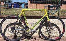Bici corsa acciaio Saccarelli 58 Campagnolo Chorus 8s Rigida DP road bike steel
