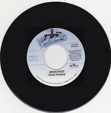 ELVIS PRESLEY - Memories 7""