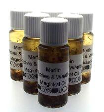 Merlin Herbal Magickal Oil Wealth