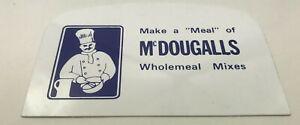 Mcdougalls Semi Curved Flexible Bowl Scraper Pastry Cake Making Baking Cakes etc