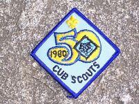 BSA Boy Scout Cub Scout 1980 Patch Boy Scout Patch Vintage