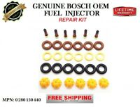 Motor Man0280150440 Bosch Fuel Injector Set1996-2000 BMW 2.8L 3.2L M52 S52