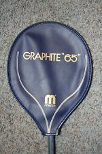 Manta 65 Graphite Reinforced Squash Racquet in Great Shape with head cover!