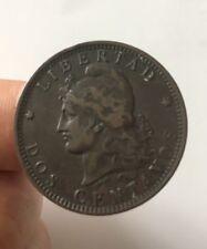 2 Centavos, 1891, Monnaie, Argentine, TTB +, Bronze