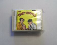 1989 FTCC THREE STOOGES SET - 60 CARDS WITH WRAPPER RED BACK  NEAR MINT