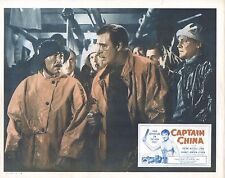"Lon Chaney Jr Robert Armstrong Captain China Original 11x14"" Lobby Card LC38"