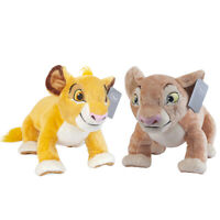 "Disney The Lion King Nala and Simba Plush Doll Figure Soft Stuffed Toy 15"" Gift"