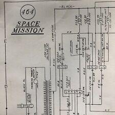 Williams Space Mission Pinball Machine Schematic