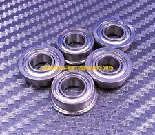 [QTY 10] SMF106zz MF106zz (6x10x3 mm) 440c Stainless Steel FLANGED Ball Bearing