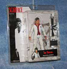 Mezco Scarface TONY MONTANA In White Suit Red Shirt Exclusive Figure Limited