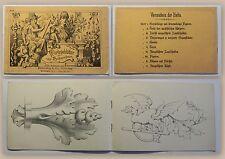 Vorlegeblätter zum Nachzeichnen um 1900 Muster Verziehrungen Zeichenvorlage xz