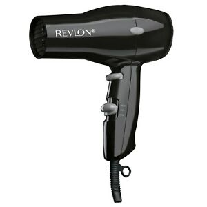 Essentials Compact and Lightweight Cold Shot Button Hair Dryers, Black