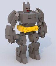 Custom Lego Batman Thrasher Suit Minifigure Scale - Instructions Only - Batmech