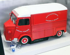 1 18 solido Citroen Type Hy Fire Engine 1969 Red/white