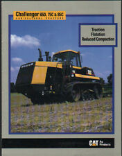 Caterpillar Challenger 65D, 75C and 85C Tracked Tractor Brochure Leaflet