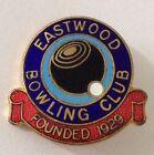 Eastwood Bowling Club Badge Pin Vintage Lawn Bowls (L34)