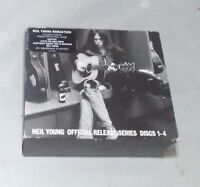NEIL YOUNG REMASTERS DISCS  1 -4 OFFICIAL SERIES