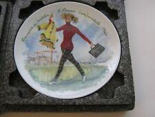 Francoise '60 D'Arceau Limoges France Collector Plate Women Century Ganeau '79 H