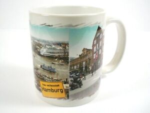 Cup Hamburg Port Town Hall Coffee Cup, City Souvenir, New, Ceramics